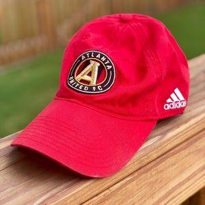 Atlanta United FC Adidas Red Logo Dad Hat